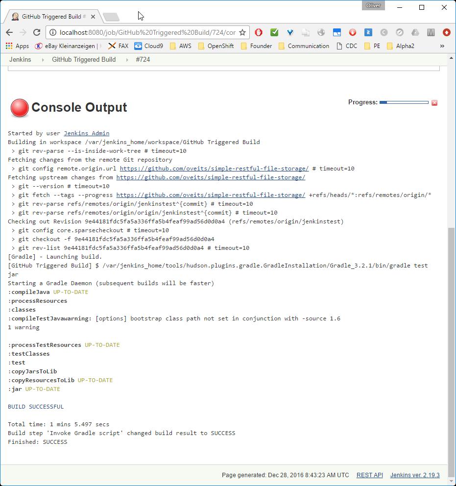 Jenkins Part 4 1: Functional Java Tests via JUnit -