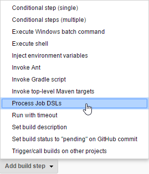 Jenkins Part 5 1: Using the Job DSL for automatic Creation