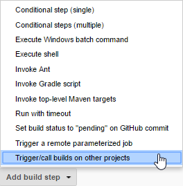 Jenkins Part 3 2: Trigger a downstream Job or Workflow with