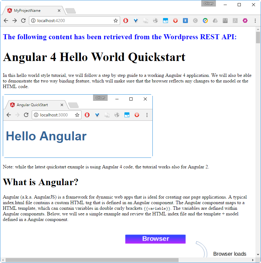 Consuming a REST Service with Angular 6: a Step-by-step