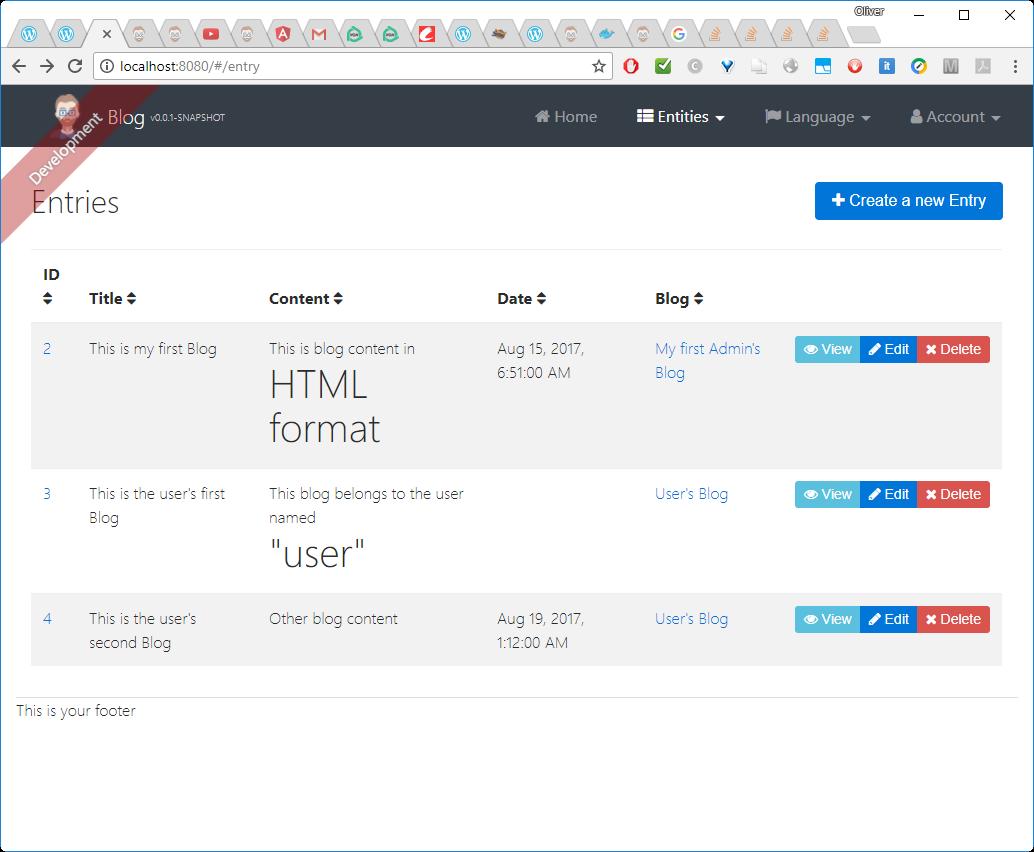 Hello Java Hipster: Angular 4 and Spring Boot -