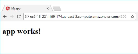 Angular 4 Docker Example - for Angular CLI projects -