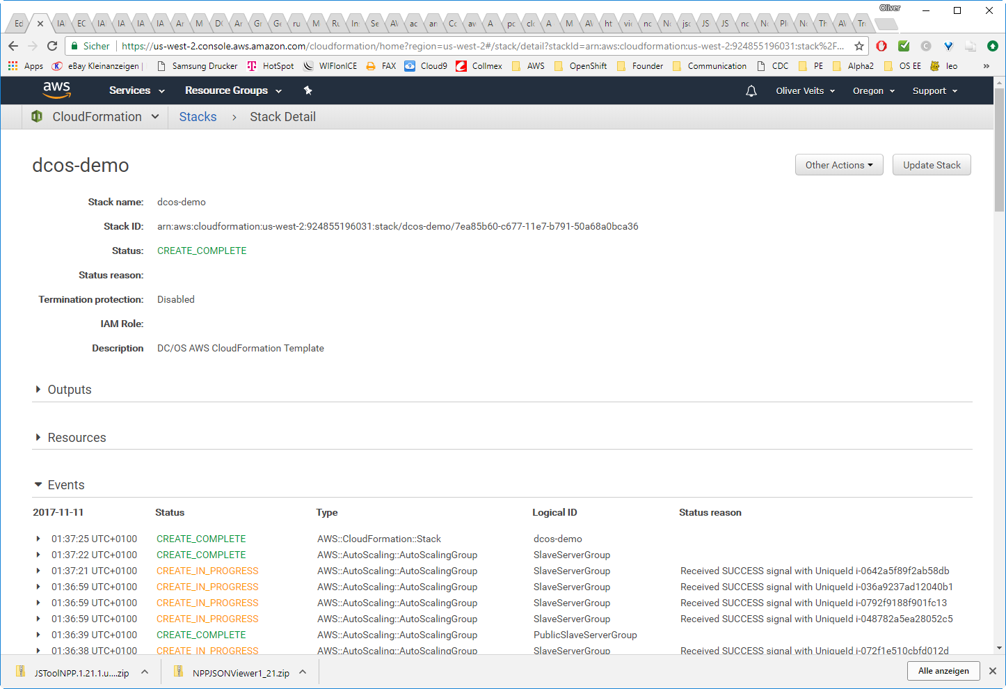 Getting Started with DC/OS on AWS -