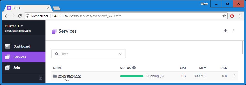 Mesos and Marathon REST API via cURL - A Hello World Example